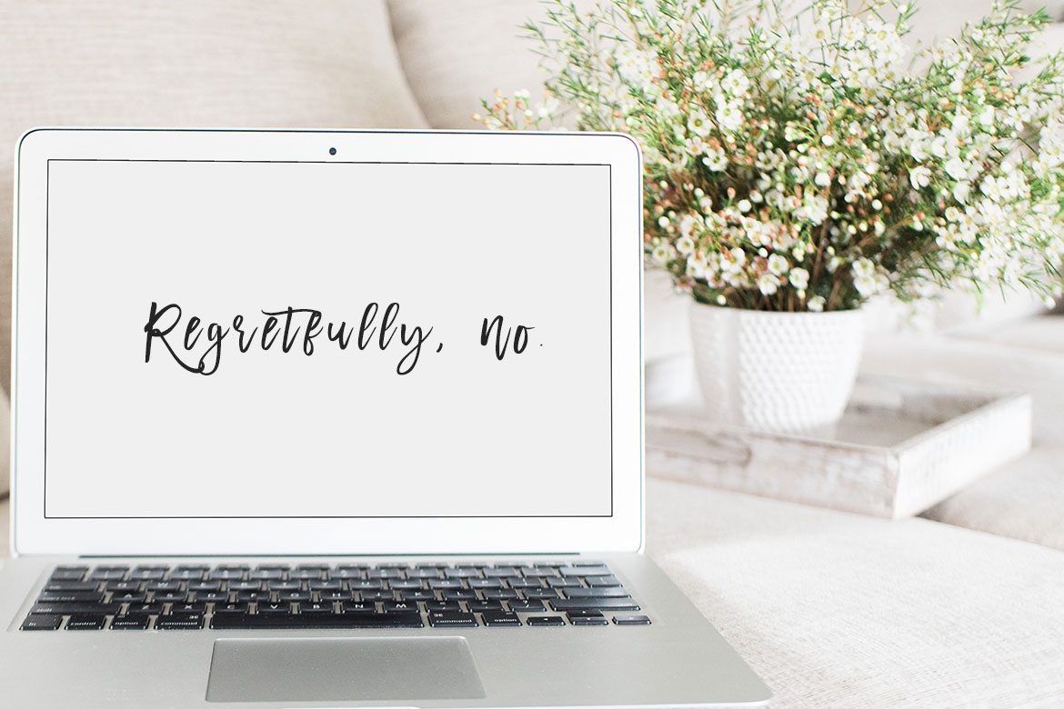 How to say 'No' without feeling guilty