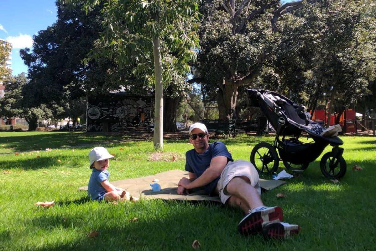 MARK AND GEORGIE LESLIE'S SHARED EXPERIENCE OF PARENTAL LEAVE