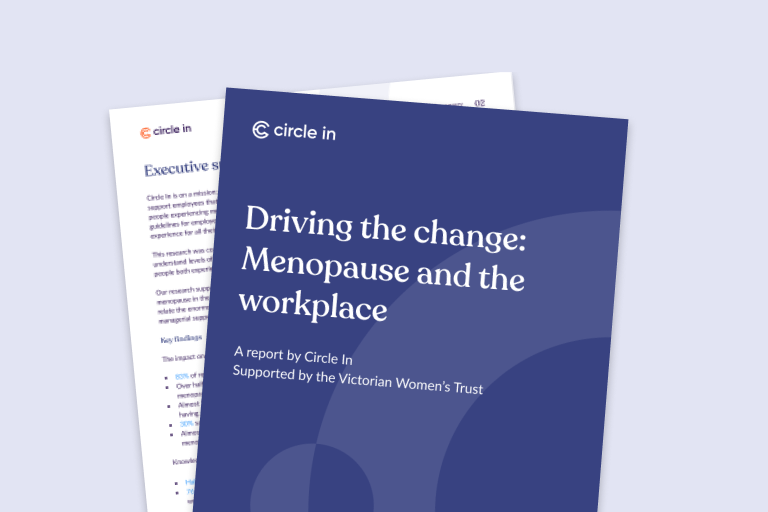 Circle In - Menopause report tile