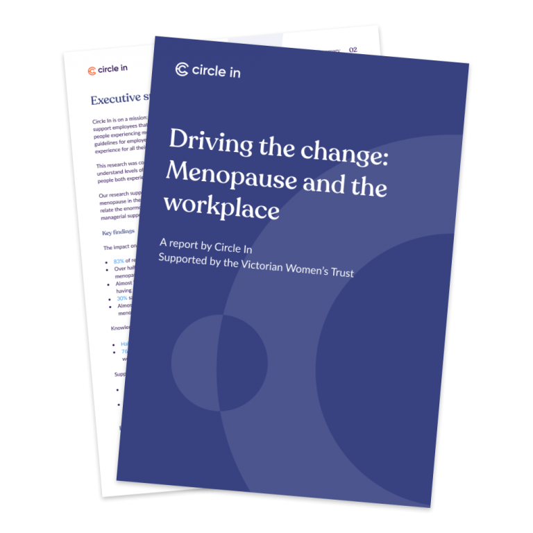 Driving the change: Menopause and the workplace report image