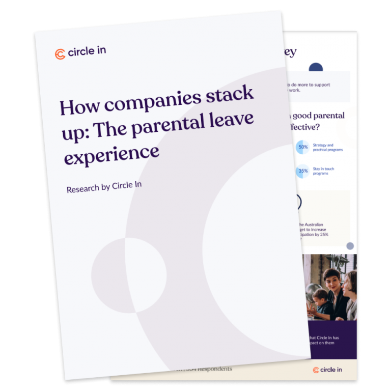 How companies stack up: The parental leave experience tile