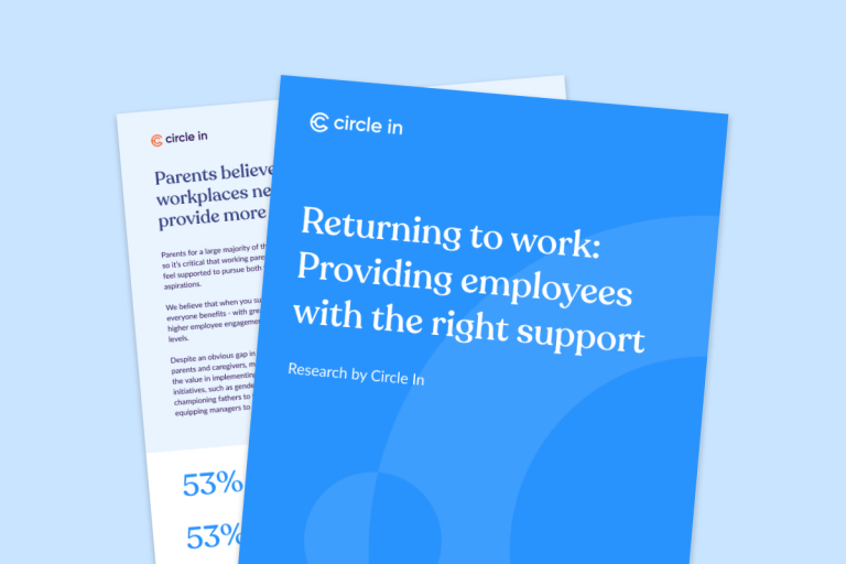 Returning to work: Providing employees with the right support